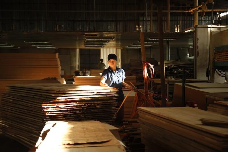 nhà máy gỗ Hoàng Anh Gia Lai