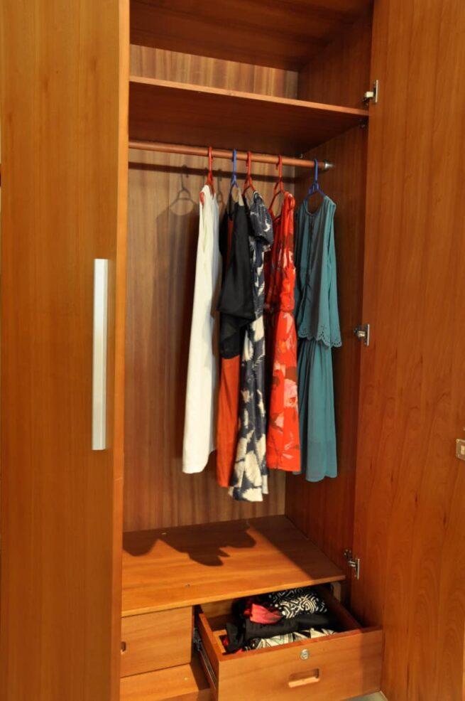 tủ quần áo 4 cánh, mẫu HN4
